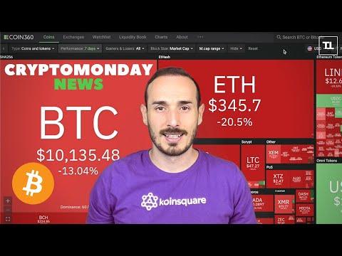BITCOIN Rischia di PERDERE il SUPPORTO dei 10k❗ – CryptoMonday NEWS w36/'20