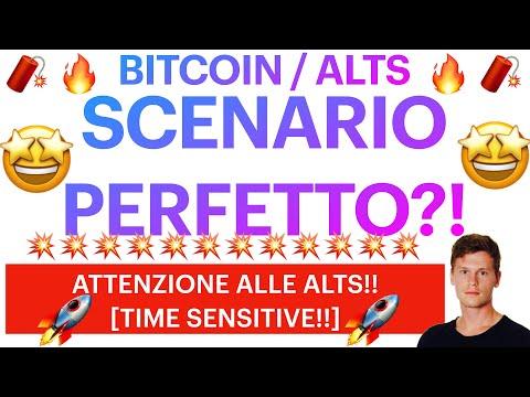 🧨🚀 LO SCENARIO PERFETTO!!? 🚀🧨 BITCOIN / ALTCOINS: IMPORTANTI CONSIDERAZIONI [SUPER TIME SENSITIVE!]