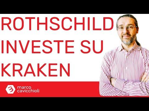 Criptovalute: Rothschild investe nell'exchange Kraken