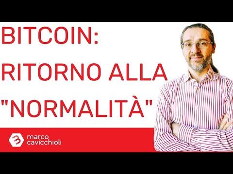 """Crollo del prezzo di bitcoin: semplicemente è tornato alla """"normalità"""""""