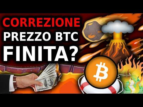 Correzione Prezzo Bitcoin Finita? Bitcoin Pronto Per Diventare Parabolico?