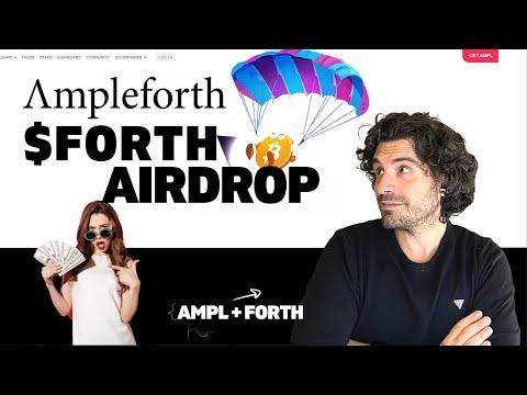 ARRIVA FORTH   Criptovalute emergenti: AIRDROP per AMPLEFORTH