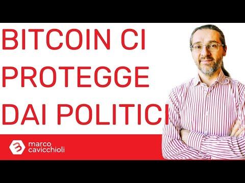 Bitcoin ci protegge dai politici disonesti