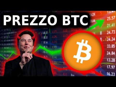 Tesla Non Accetta Bitcoin! Prezzo Bitcoin Crollato! Mercato Rialzista Finito?