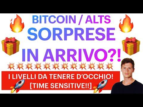 💥🎁 SORPRESE IN ARRIVO?! 🎁💥 BITCOIN / ALTCOINS: COSA OSSERVARE ORA?! [time sensitive!]