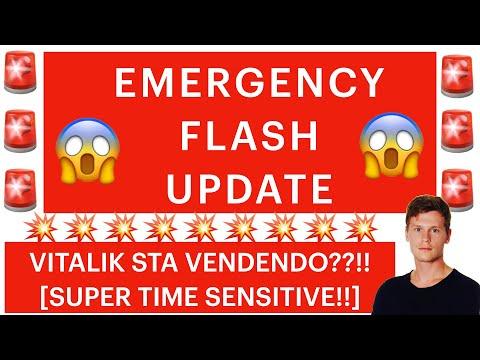 🚨❌ EMERGENCY FLASH UPDATE ❌🚨 VITALIK VENDE?!? BITCOIN / ALTCOINS: COSA ACCADE?! [time sensitive!]