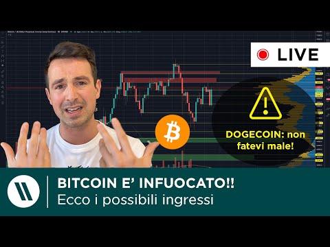 BITCOIN: se NON sei BULLISH, sei PAZZO! | DOGECOIN VERSO 1$?