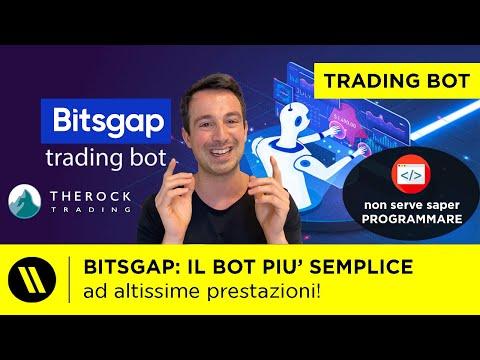BITSGAP: il BOT più SEMPLICE! | TRADING AUTOMATICO BITCOIN e CRYPTO su THE ROCK TRADING! | TUTORIAL