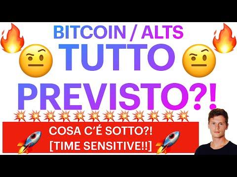 🤨🔥 IL PERCHÉ DI QUESTI PUMP 🔥🤨 BITCOIN / ALTCOINS: I GRAFICI PARLANO CHIARO [time sensitive!]