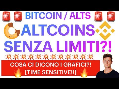 🚨🤩 CI SONO LIMITI PER LE ALTCOINS?! 🤩🚨 BITCOIN: DOMINANCE IN PICCHIATA!! [super time sensitive!!]