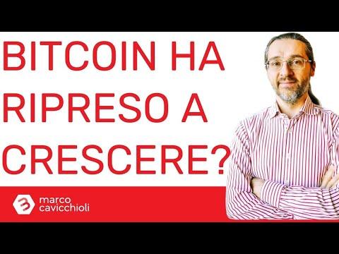 Il valore di bitcoin ha ripreso la sua crescita?