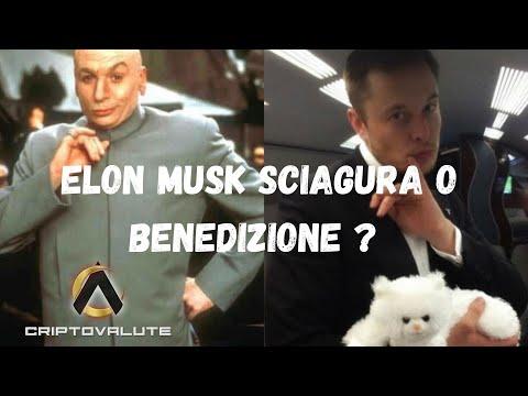 Elon Musk sciagura o benedizione  Verso l'addio all' ETF del BTC ?