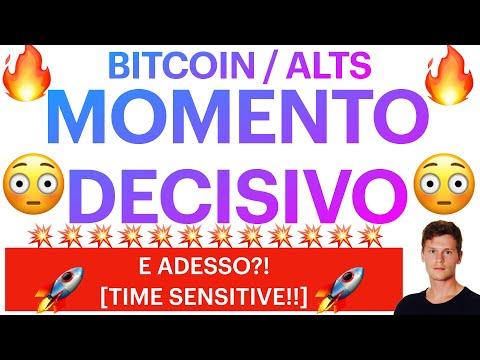 🚨💥 ONLY THE BRAVE?! 💥 🚨 BITCOIN / ALTCOINS: SIGNORE E SIGNORI, CI SIAMO?! [time sensitive!]
