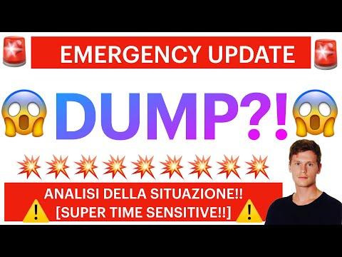 🚨❌ EMERGENCY UPDATE: DUMP?! ❌🚨 BITCOIN / ALTCOINS: ANALISI DELLA SITUAZIONE! [super time sensitive!]