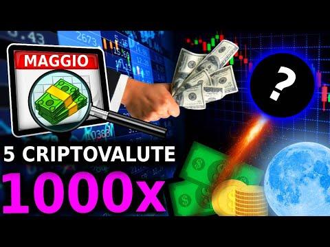 Le 5 Migliori Criptovalute Per Comprare a Maggio! 5 Milioni!