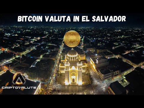 BITCOIN valuta in EL SALVADOR  Anonymous messaggio per Elon