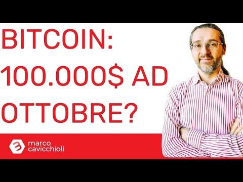 Bitcoin a 100.000$ ad ottobre?