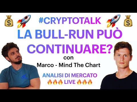 🔥LA BULL-RUN PUÒ CONTINUARE?! 🔥BITCOIN / ALTCOINS: ANALISI DI MERCATO LIVE con @Mind-The-Chart Ita