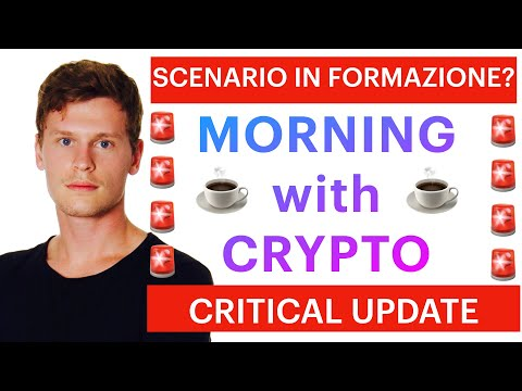 ❌☕️ EMERGENCY UPDATE: NE ABBIAMO PARLATO IERI ☕️❌ MORNING with CRYPTO: BITCOIN / ALTCOINS [12/06/21]