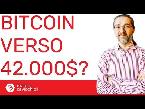 Bitcoin verso i 42.000$?