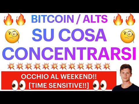 👀💰 MANTENERE IL FILO LOGICO 💰👀 BITCOIN / ALTCOINS: SU COSA CONCENTRARSI?! [time sensitive!]