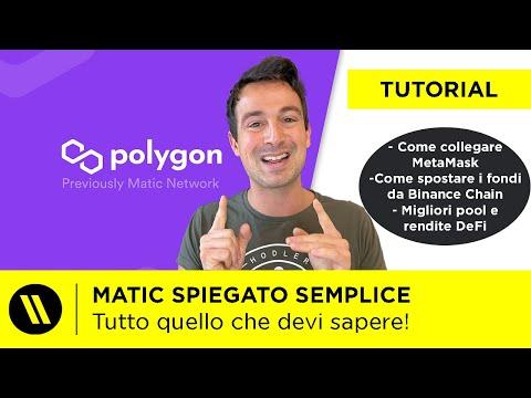 POLYGON (MATIC): TUTTO quello che DEVI SAPERE (MetaMask, Staking, DeFi, Tutorial)