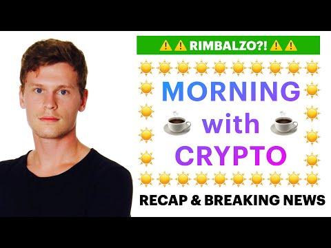 ☕️⚠️ RIMBALZO?! ⚠️☕️ MORNING with CRYPTO: BITCOIN / ALTCOINS // News & Recap [23/06/2021]