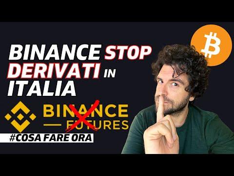 BINANCE STOP A FUTURES CRYPTO E DERIVATI | COSA FARE ORA?