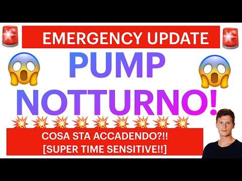 🚨🚨 EMERGENCY UPDATE!! VOLUMI E PUMP NOTTURNO!! 🚨🚨 BITCOIN / ALTCOINS: ATTENZIONE ALLA 200 DAILY!