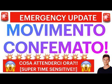 🚨🔥 EMERGENCY UPDATE: MOVIMENTO CONFERMATO! 🔥🚨 BITCOIN / ALTCOINS: COSA ATTENDERCI ORA?! [super ts!]
