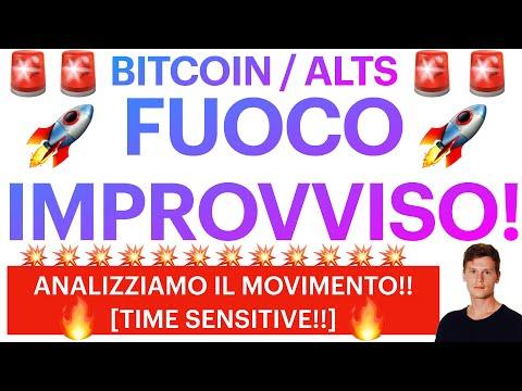 🚀🤩 DECOLLO IMPROVVISO!! 🤩🚀 BITCOIN / ALTCOINS: ANALIZZIAMO IL MOVIMENTO! [super time sensitive!!]