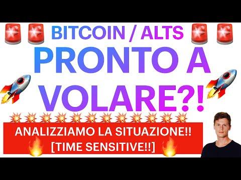 🚨🧨 PRONTO A VOLARE?! 🧨🚨 BITCOIN / ALTCOINS: ANALIZZIAMO LA SITUAZIONE! [super time sensitive!]
