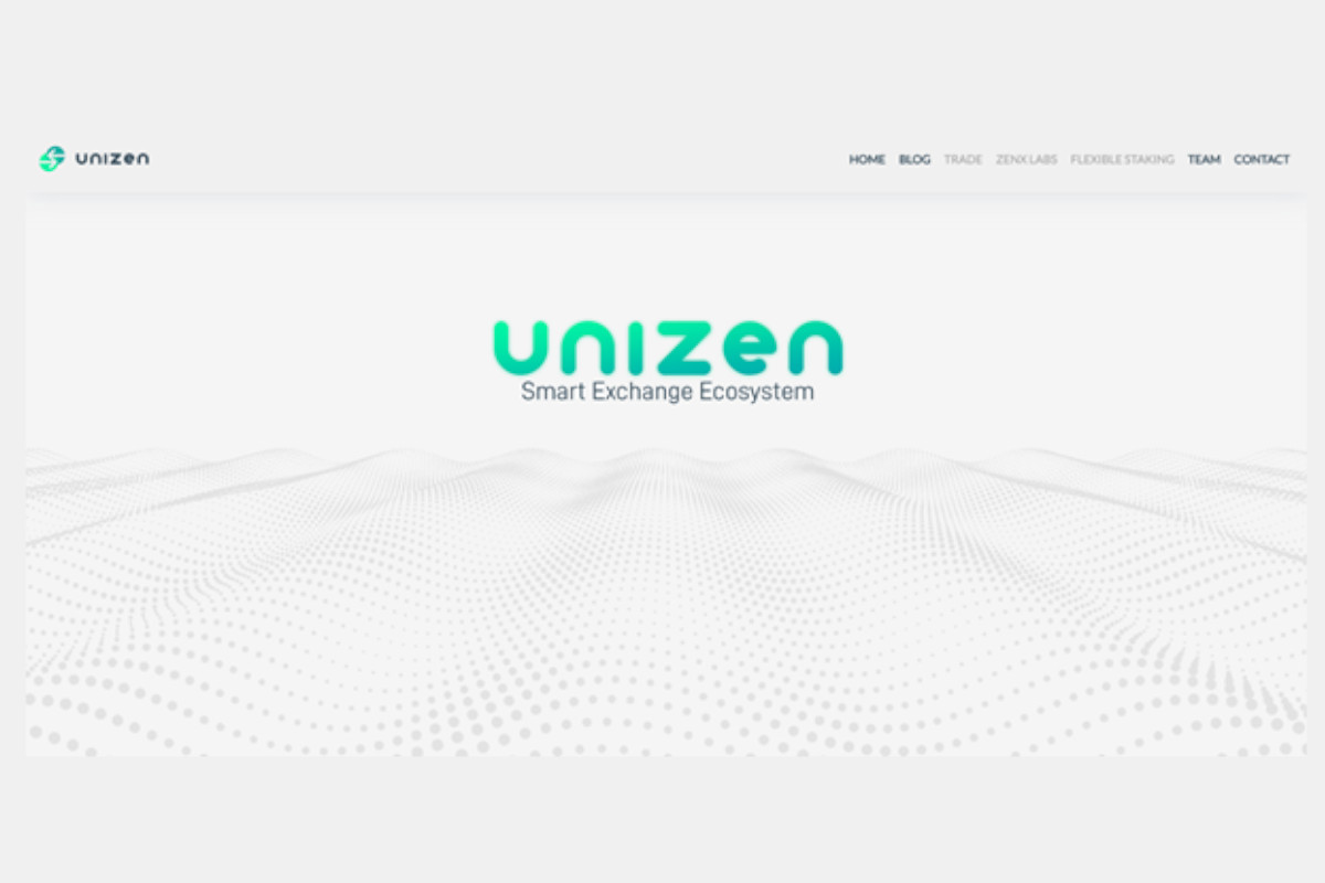 Unizen: un nuovo ecosistema di scambio intelligente CeDeFi