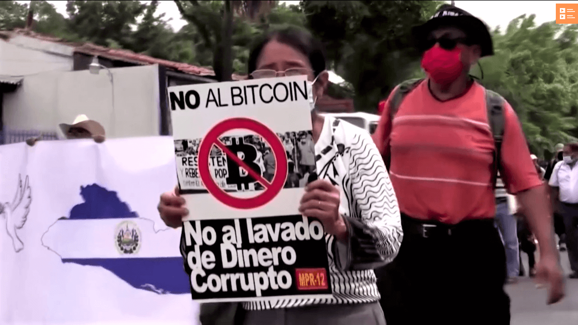 El Salvador: le proteste contro Bitcoin sono state gonfiate