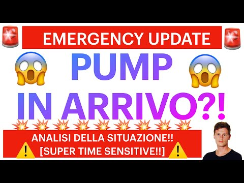🚨🚀 EMERGENCY UPDATE: BIG PUMP IN ARRIVO?! 🚀🚨 BITCOIN / ALTCOINS: COSA STA ACCADENDO?! [t. sensitive]
