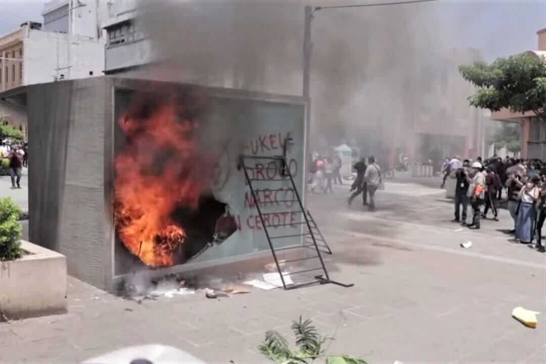 Marcia contro il presidente Bukele e Bitcoin in El Salvador