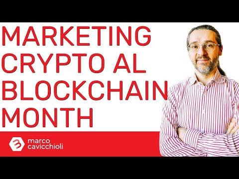 Il marketing in ambito crypto e blockchain al Blockchain Month – ft. Ilaria Stirpe