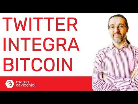 Twitter integra i pagamenti in bitcoin (attivo ed ufficiale)