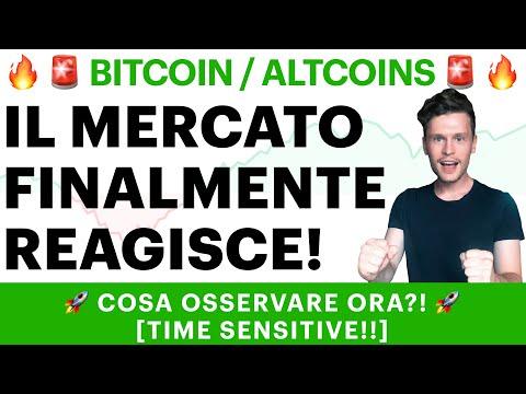 🔥🚀 IL PREZZO STA REAGENDO!! 🚀🔥 BITCOIN / ALTCOINS: COSA OSSERVARE ORA?! [time sensitive!]
