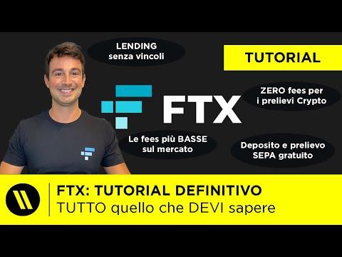 FTX: il MIGLIORE EXCHANGE CRYPTO in ASSOLUTO | TUTORIAL COMPLETO