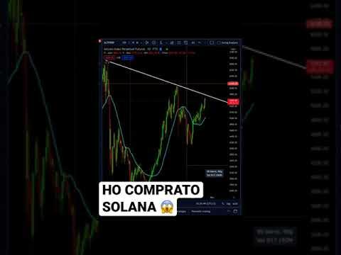 BITCOIN respira ma HO COMPRATO SOLANA #bitcoin #crypto #trading #solana