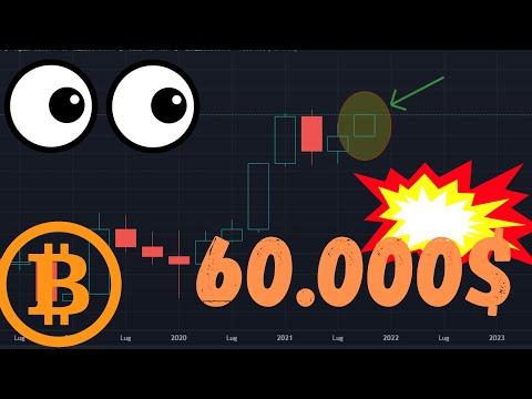 60.000$ E NON SENTIRLI! QUESTO E' BITCOIN! GIORNATA IMPORTANTE! #bitcoin #criptovalute