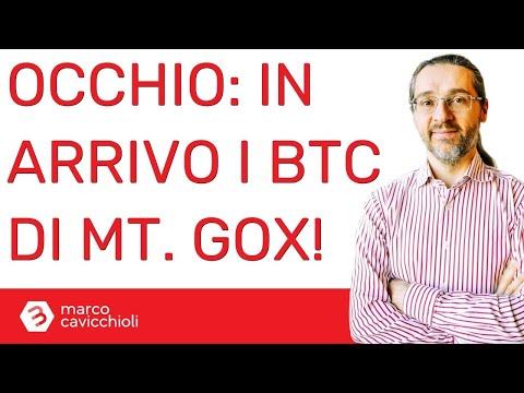 Attenzione: in arrivo sui mercati i (tanti) bitcoin di Mt. Gox. Il prezzo potrebbe soffrirne.