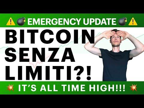 🚀😱 EMERGENCY UPDATE: BITCOIN SENZA LIMITI?! 😱🚀 BITCOIN / ALTCOINS: IT'S ALL TIME HIGH! [super ts]