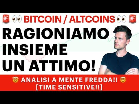 🚨👀 OK, ORA FERMIAMOCI!! 👀🚨 BITCOIN / ALTCOINS: ANALISI POST PUMP [time sensitive!]